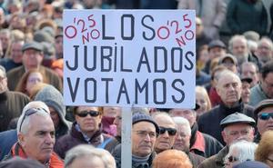 Cientos de personas se movilizan «contra las pensiones de miseria» en Valladolid