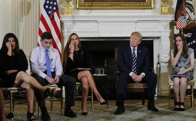 Trump sugiere armar a los profesores para evitar los tiroteos en las escuelas
