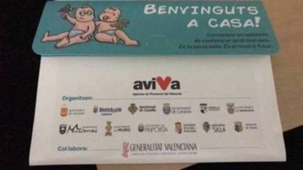 Doce ayuntamientos instan a los padres de recién nacidos a «valencianizar» sus apellidos