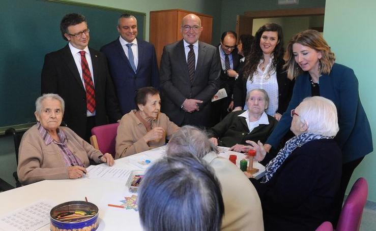 Inauguración de la ampliación de la residencia de Villavicencio de los Caballeros