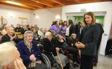 Alicia García destaca el compromiso de la Junta con la mejora de la calidad de vida de las personas mayores