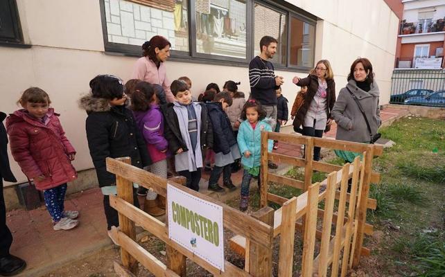 Cinco nuevos centros se suman a la Red de Huertos Escolares