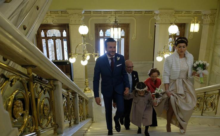 Boda de Mayte Martínez y Fernando Gangoso