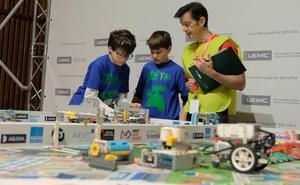 El Colegio San Agustín participará en la final nacional de la 'First Lego League'
