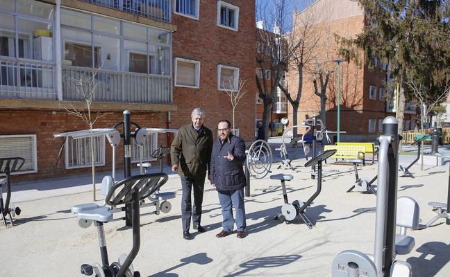 El Ayuntamiento prevé finalizar las obras en el barrio de San Bernardo antes de abril