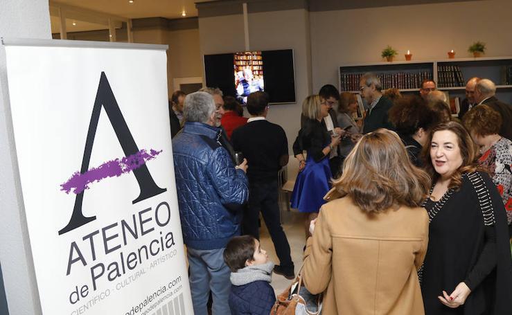 Inauguración de la sede del Ateneo de Palencia