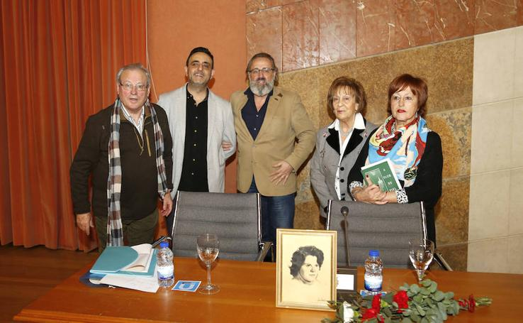 Homenaje a Aurora Merchán en Palencia