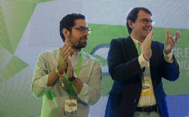 Eduardo Carazo revalida su cargo como presidente de Nuevas Generaciones Castilla y León