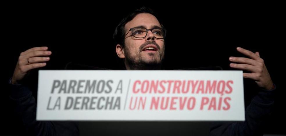 Garzón llama a toda la izquierda a crear un «proyecto de país»