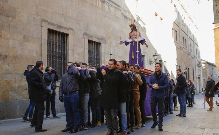 Traslado del Despojado de San Benito a San Sebastián en Salamanca