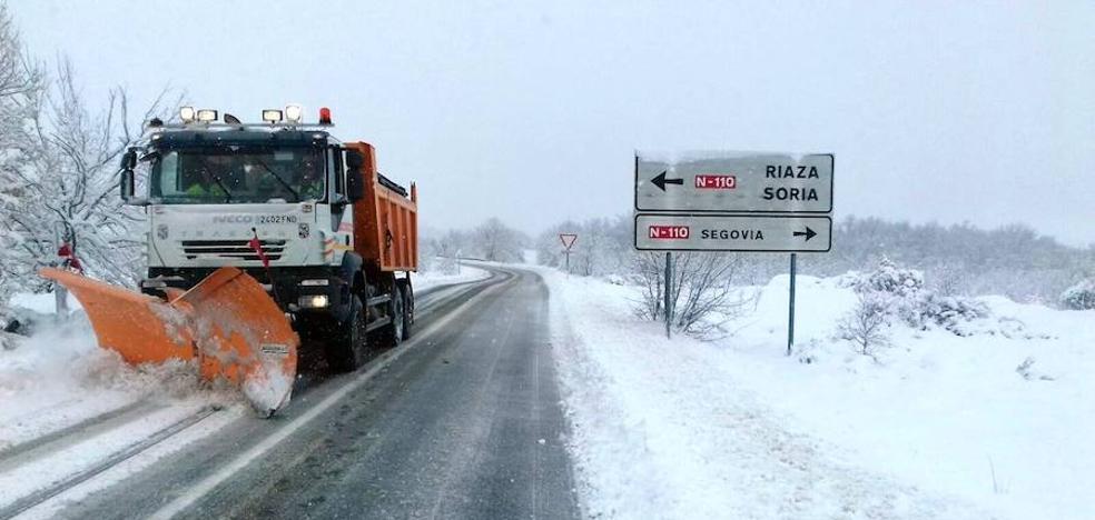 La Diputación de Segovia gastó más de 150.000 euros en las últimas nevadas