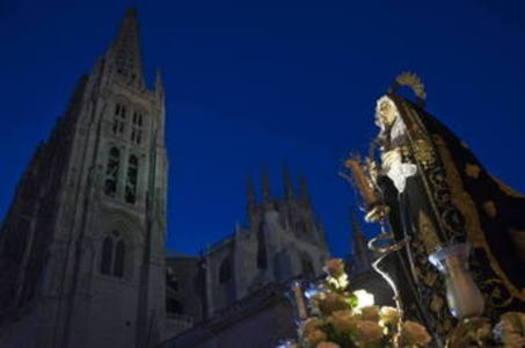Programa de procesiones del Sábado Santo, 31 de marzo, en Burgos
