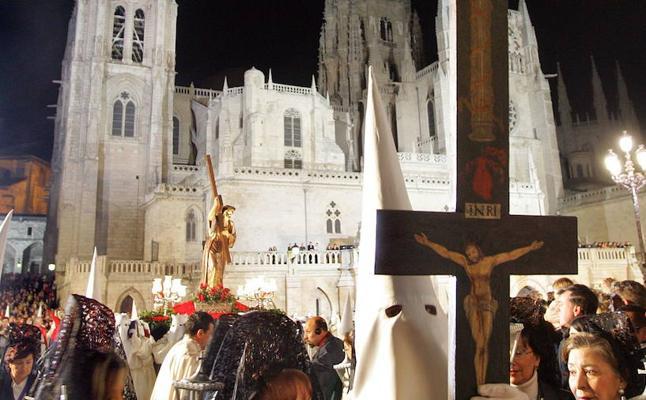 Programa de procesiones del Jueves Santo, 29 de marzo, en Burgos
