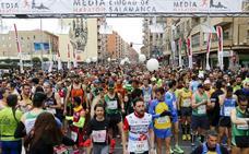 Javier Alves y Verónica Sánchez defenderán su corona en la VII Media Maratón de Salamanca