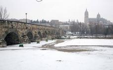 Siete provincias de la región, incluida Valladolid, en alerta por nevadas durante el miércoles