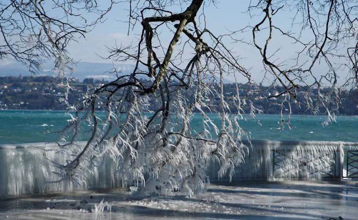 Las impresionantes imágenes que la ola de frío ha dejado en Europa