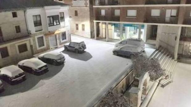 La nieve y el hielo han impedido acudir a clase a 1.794 alumnos en Palencia