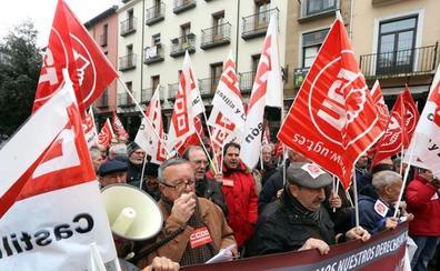 CCOO y UGT salen a la calle de nuevo dentro de su campaña de movilizaciones para exigir al Gobierno pensiones dignas