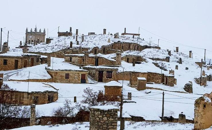 Nieve en Baltanás
