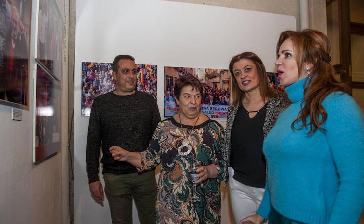 Inauguración de la exposición 'Un año en imágenes 2017' de El Norte de Castilla