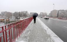 Castilla y León cambia la nieve por lluvia y viento