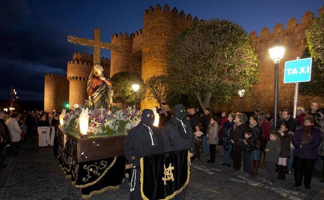 Programa de procesiones del Sábado Santo, 31 de marzo, en Ávila