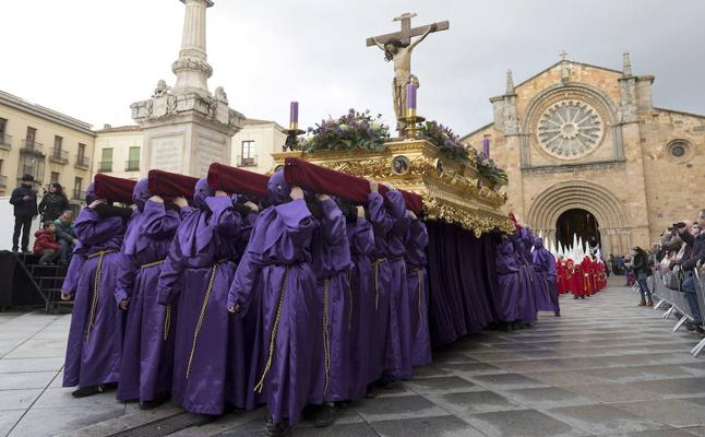 Programa de procesiones del Sábado de Pasión, 24 de marzo, en Ávila