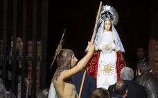 Programa de procesiones dle Domingo de Resurrección, 1 de abril, en Ávila