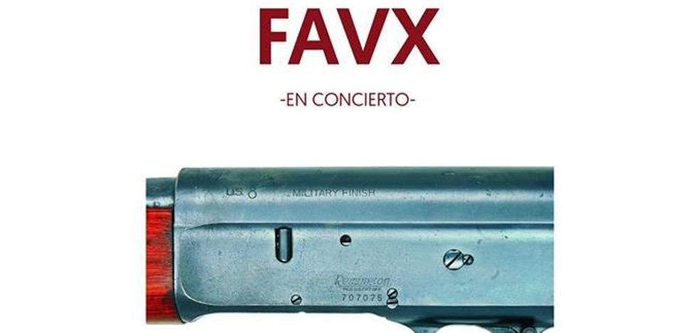 FAVX, en concierto en el Desierto Rojo de Valladolid