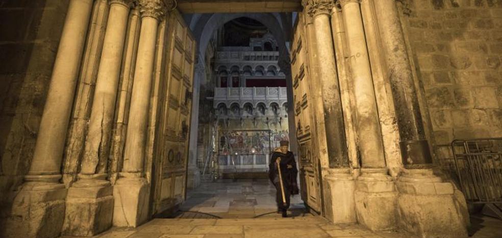 El Santo Sepulcro vuelve a abrirse a los peregrinos tras tres días de cierre