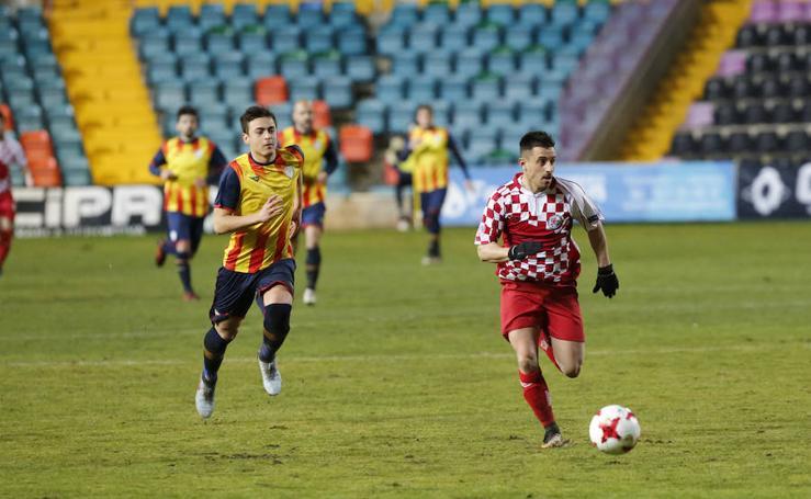 Castilla y León, 2 - Cataluña, 0 (Copa de las Regiones UEFA)