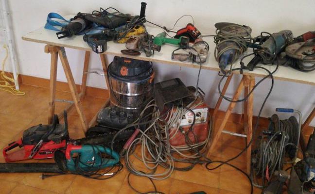 La Guardia Civil esclarece más de veinte robos en bodegas y casas en Palencia