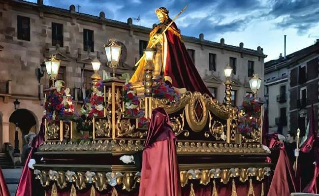 Programa de procesiones del Miércoles Santo, 28 de marzo, en Soria