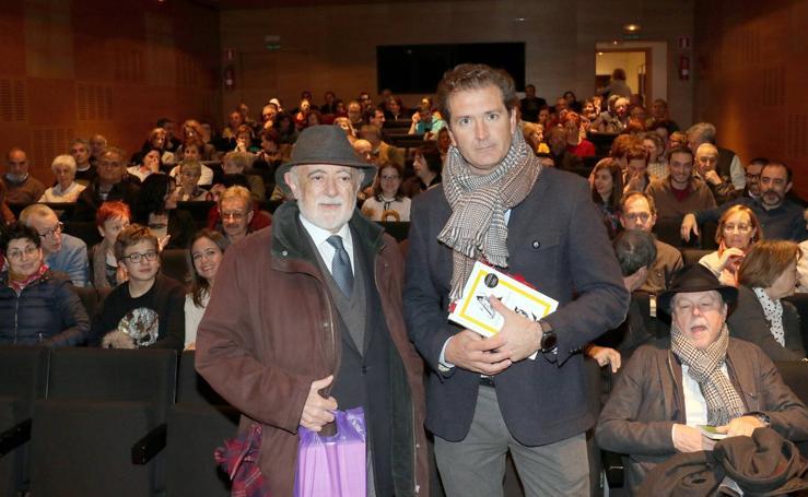 Conferencia del escritor y helenista Carlos García Gual en el Aula de Cultura de El Norte de Castilla