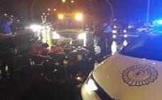 Herido de gravedad un motorista tras caerse en Valladolid