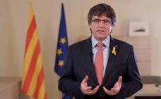 Puigdemont amenaza con elecciones si el Estado no permite la investidura de Sánchez