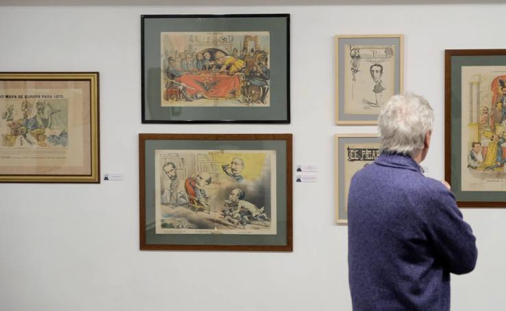 La Casa Revilla acoge una exposición sobre la historia de la prensa satírica en España