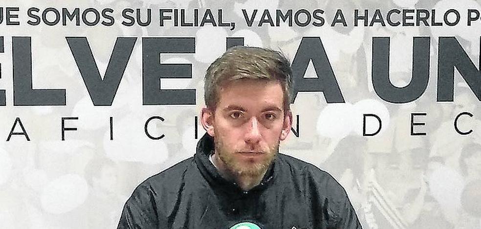 Cortés espera encontrar mañana un Numancia B «muy diferente al de la primera vuelta en Soria»