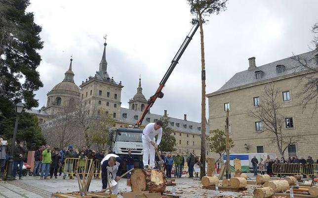 La huella segoviana en la construcción del Monasterio de El Escorial