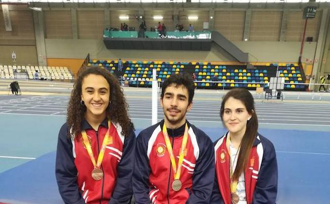 El CAV suma cuatro medallas en el Nacional júnior