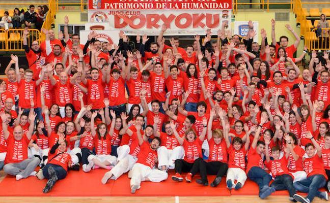 Fiesta del judo en Salamanca con el V Campeonato Doryoku
