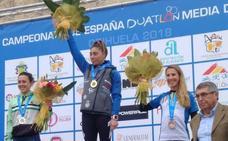 Helena Herrero, campeona de España de duatlón de media distancia