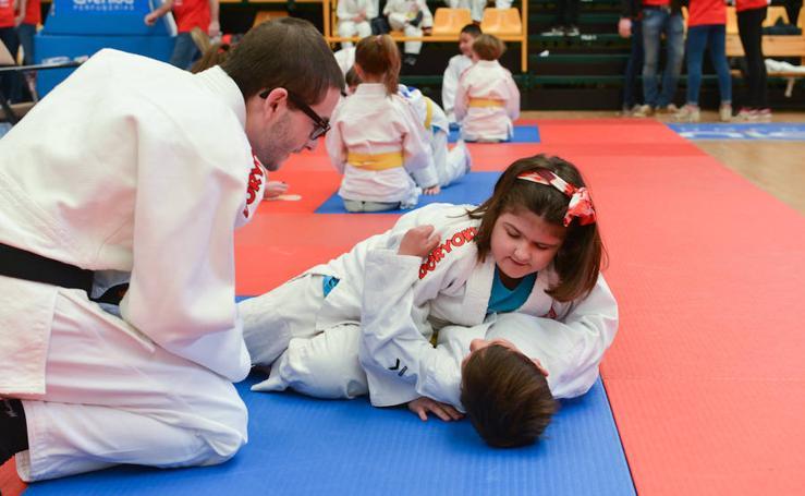 Fiesta del judo en Salamanca