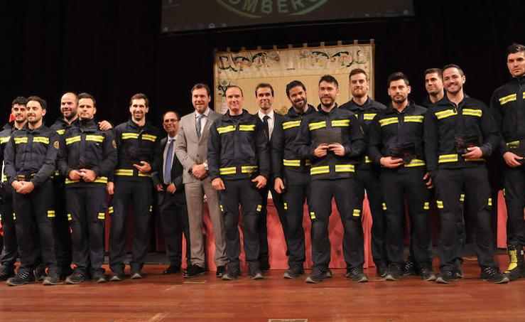 Celebración del Día de los Bomberos en Valladolid