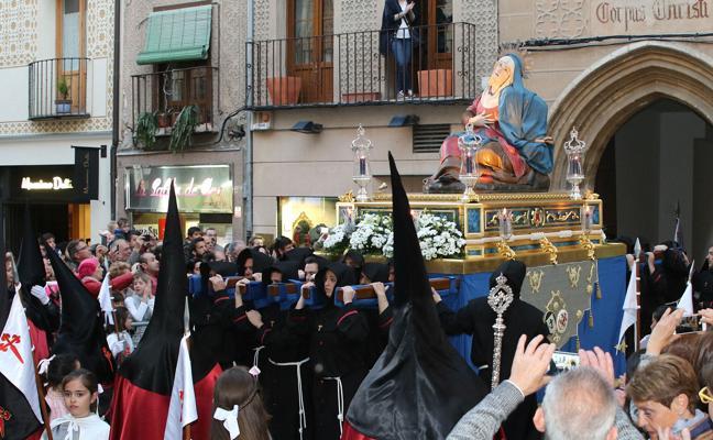 Programa de procesiones del Jueves Santo, 29 de marzo, en Segovia