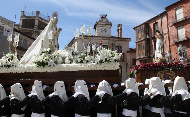 Programa de procesiones del Domingo de Resurrección, 1 de abril, en Segovia