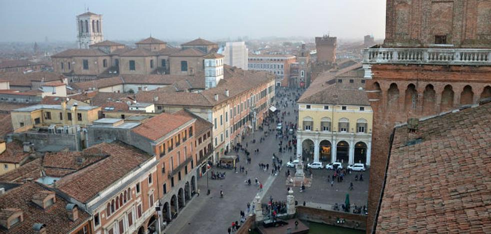 Ferrara, ciudad artística entre espectaculares paisajes