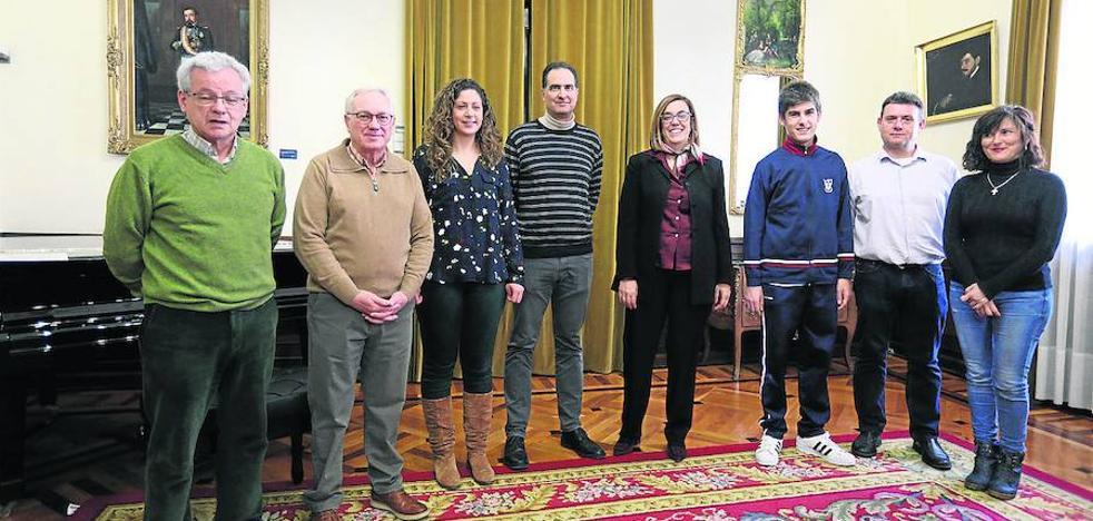 Un estudiante de Palencia, con los mejores compañeros de matemáticas del país
