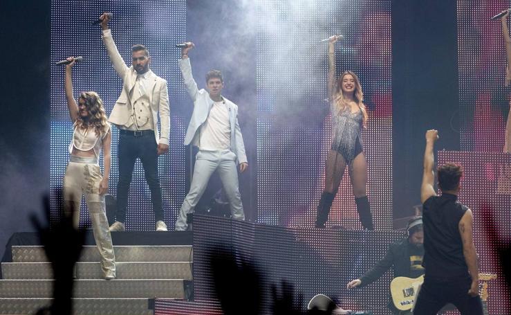 El concierto de Operación Triunfo en Barcelona, en imágenes