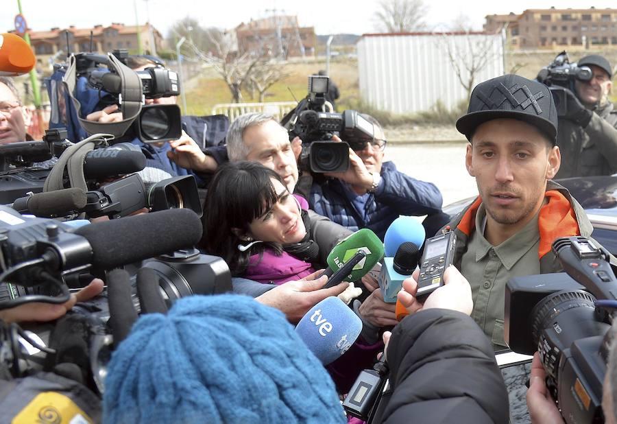 El leonés Víctor Rodríguez abandona la prisión
